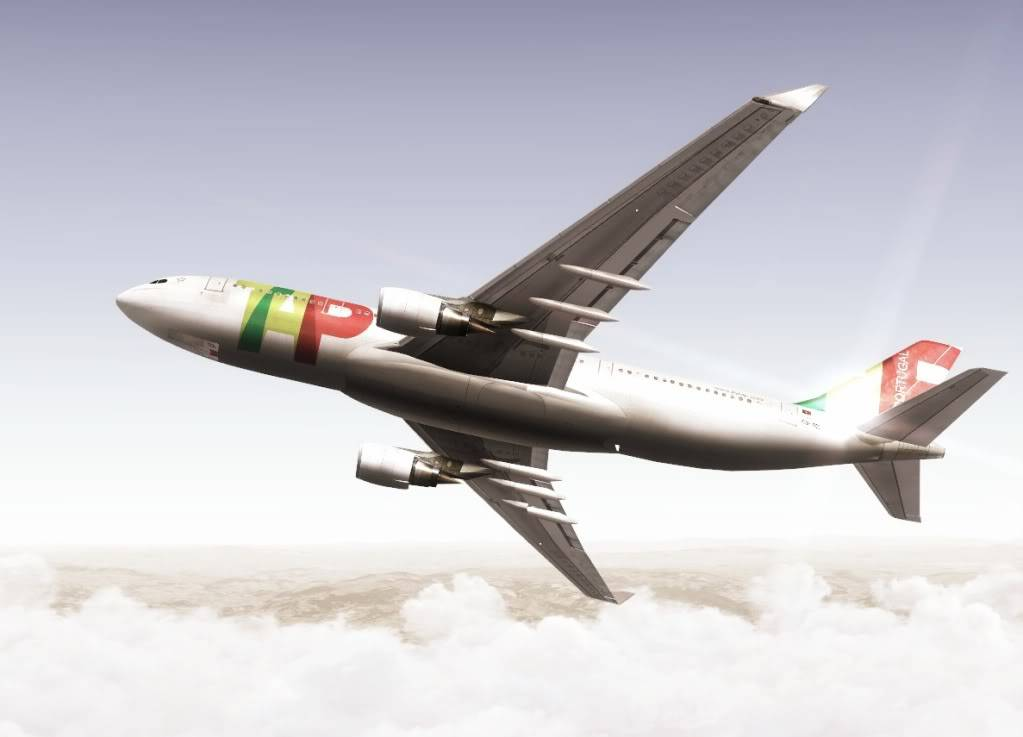 [FS9] Variadas AirbusA340TAP