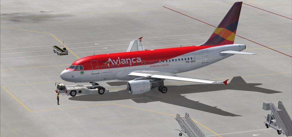 Tragédia A318 SBRJ-SBPA Readyforpushback