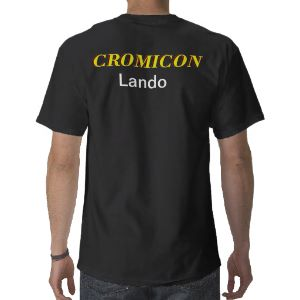 A special day for the Crom Fam and friends. Cromiconbackview