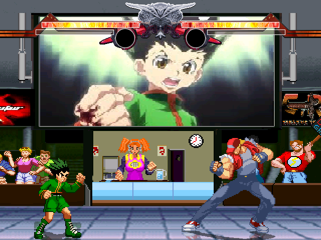 Anime Battle Royal Hunter X Hunter stage ( unlockable Gon stage ) Mugen000-4