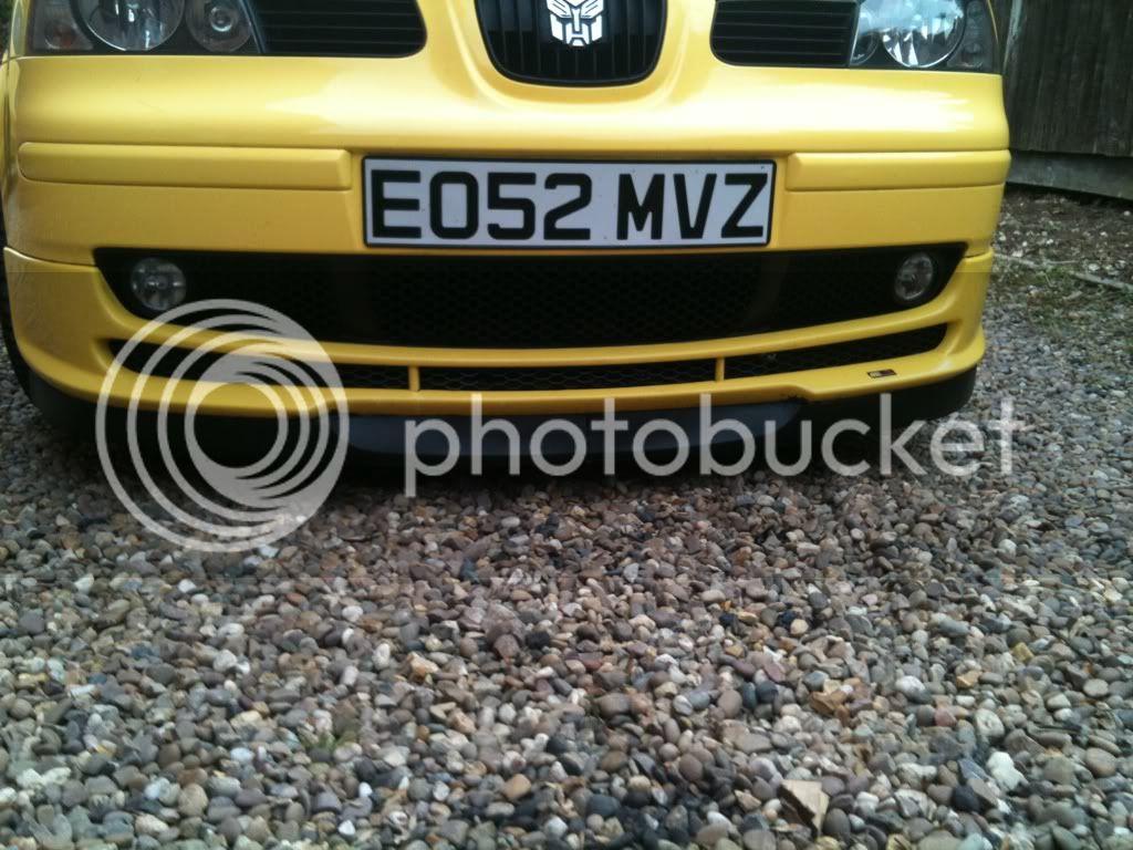 Mk5 astra Sri splitter  919c2938