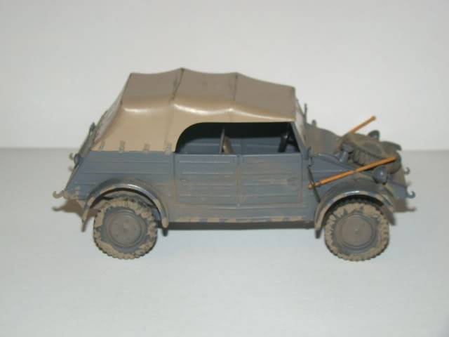 My collection of models Kubelwagen01