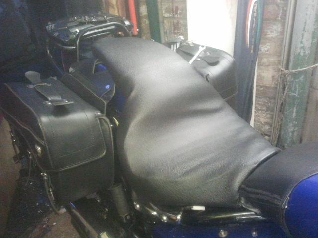 One Piece Seat Conversion Mod, Suzuki M50 / M800 2013-01-25164158