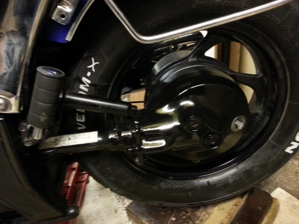 VS1400 Shaft drive fitted ............................ 2007 Suzuki M50 20140125_1741121
