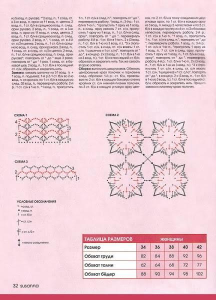 Provocarea nr. 9 - croset - motive florale Diagrama1