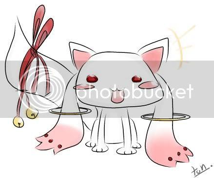 [Event Fanart] มาวาดคิวเบย์จากอนิเมเรื่อง Mahou Shoujo Madoka Magica กันเถอะพวกเรา \;w;/!!  PageFile02