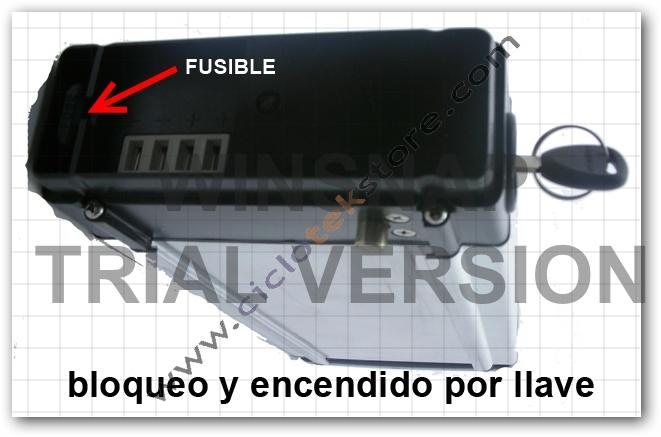 Utilidad del Fusible BateriaCK36v10A
