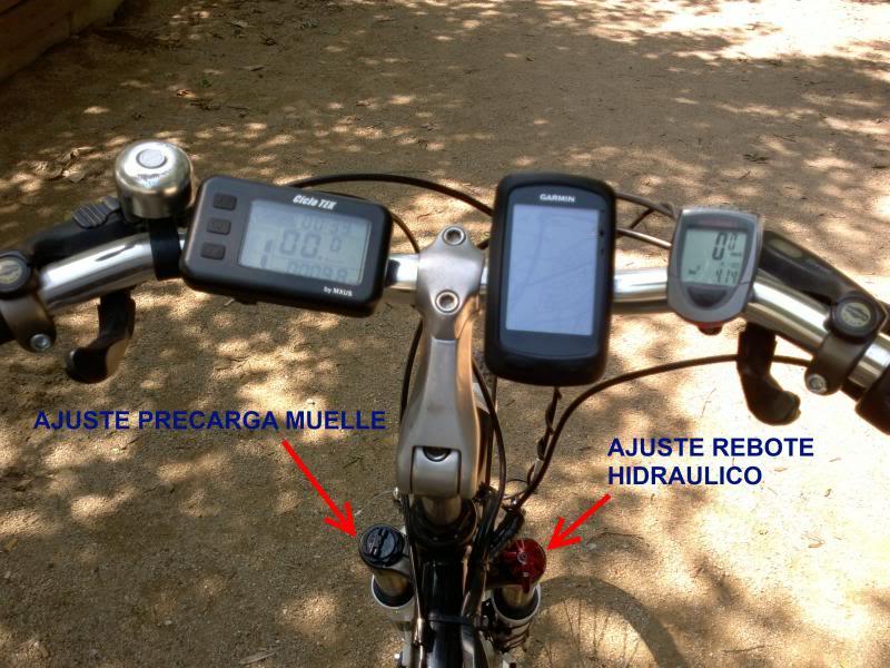 Horquillas RST VITO TNL 60 Trecking RSTValvulas
