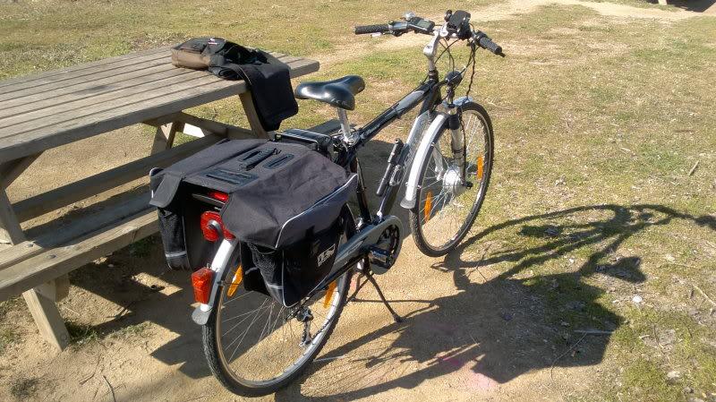 Convertidor DC-->DC de 36v a 5v (Cargando el teléfono móvil en la bici) VistaGeneral