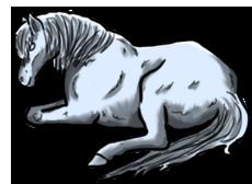 BluuWynter Horselyingdowngrascale