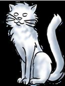 BluuWynter Kittysittinggrayscale