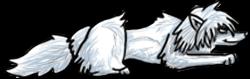 BluuWynter Layingdownwolfgirl