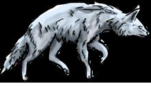 BluuWynter Sneakywolfgrayscale