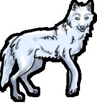 BluuWynter Walkingwolf2grayscale