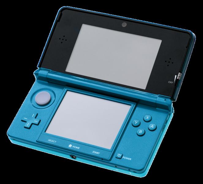 2011 Nintendo 3DS 663px-Nintendo-3DS-AquaOpen