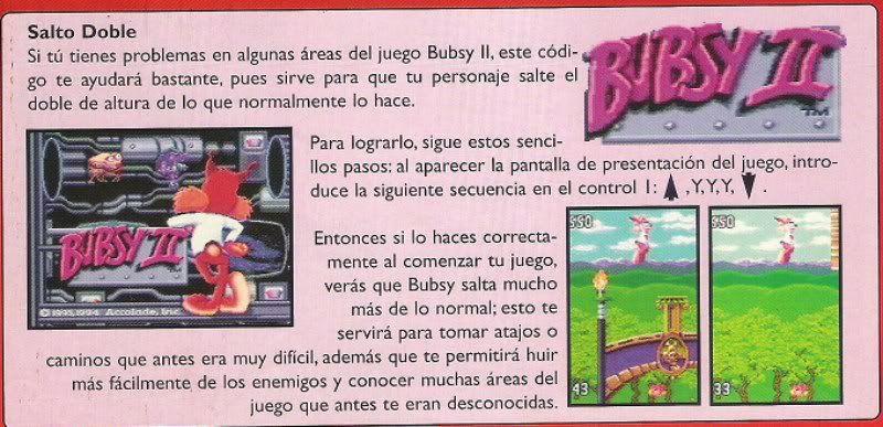 BUBSY 2 SNES BUBSY2