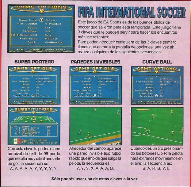 FIFA INTERNATIONAL SOCCER Fifainternationalsoccer