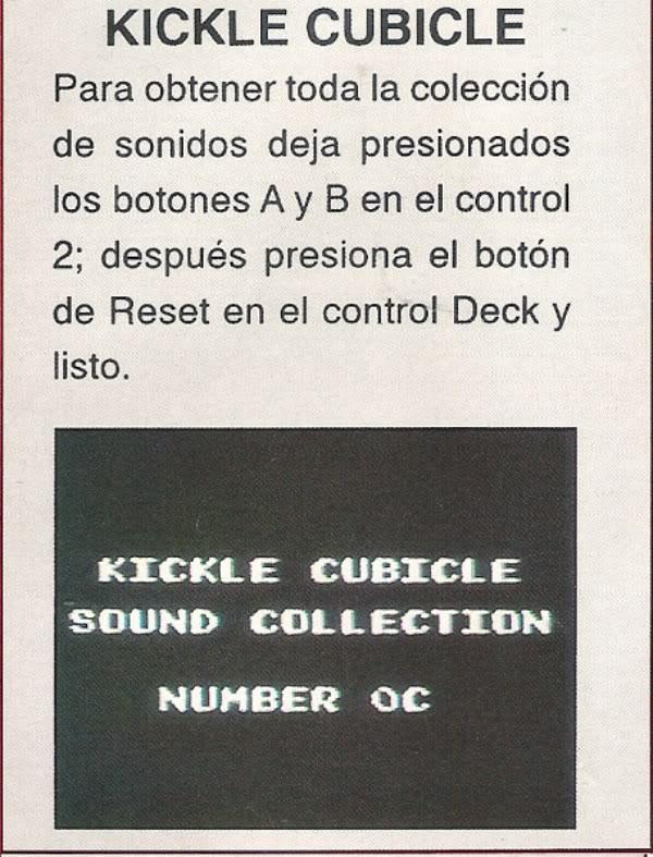 KICKLE CUBICLE NES Kicklecubicle