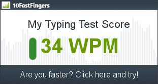 Typing test. Test your skills here! 1_wpm_score_AI-1