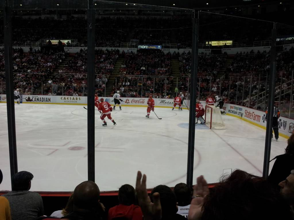 Detroit Red Wings and Anaheim Ducks Shane and I went too!!!  2011-11-05200615