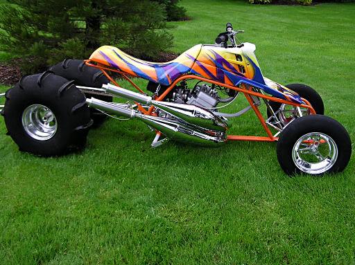 post cool pics of some sweet quads!  Drag_Bike4