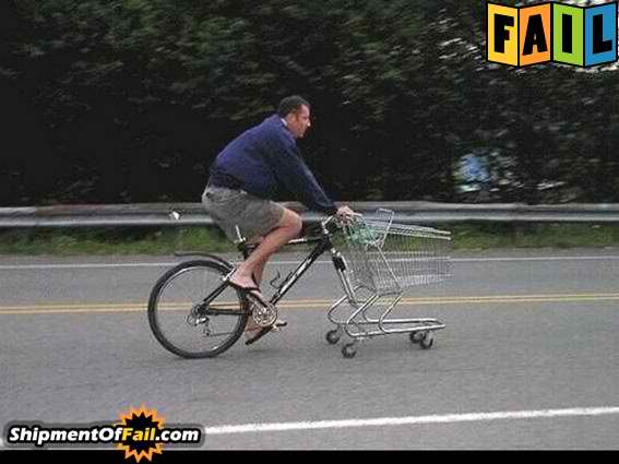 Random Picture Thread Bike-cart-fail