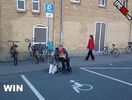 Random Picture Thread Handicap-parking-win