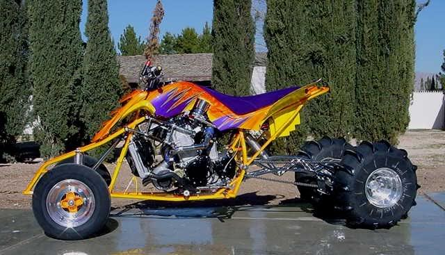 post cool pics of some sweet quads!  Headsupturbos
