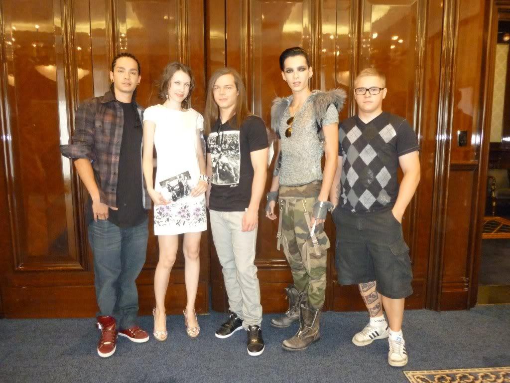 Tokio Hotel On Russia MUZtv awards this friday 3rd of june Mmmmmmmmmmmmmmmmm