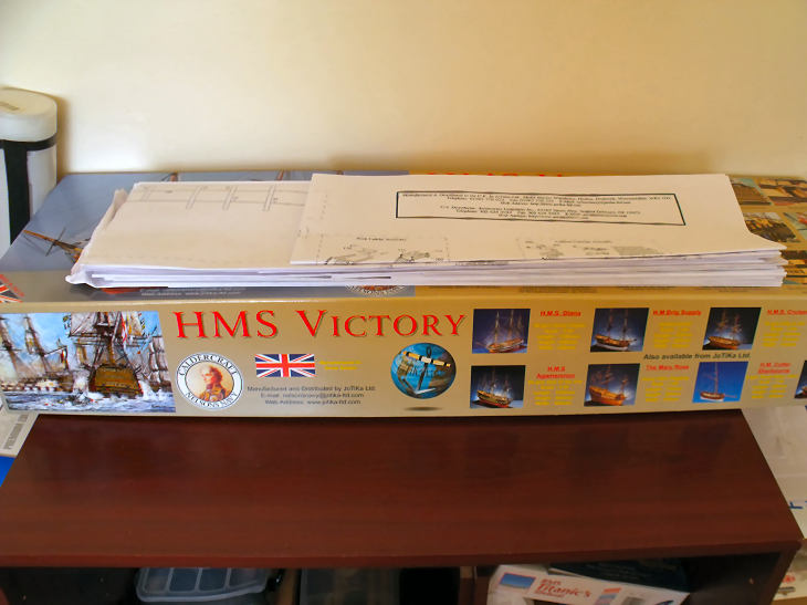 Caldercraft's 1:72 Scale HMS Victory ThePlans2