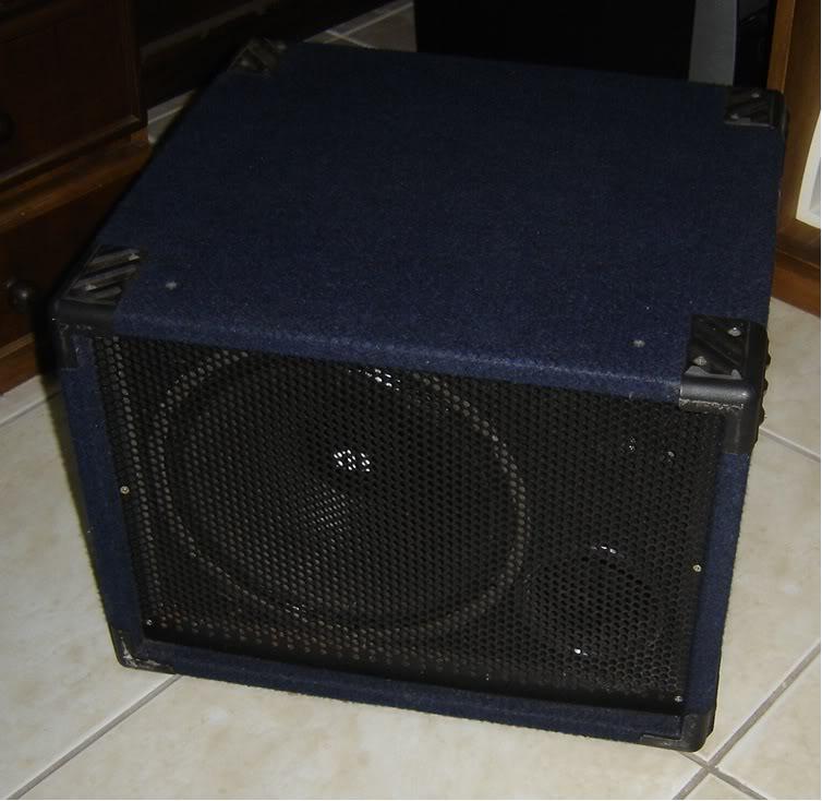 Selenium 12PW5 300Watts em caixa handmade. DSC01707
