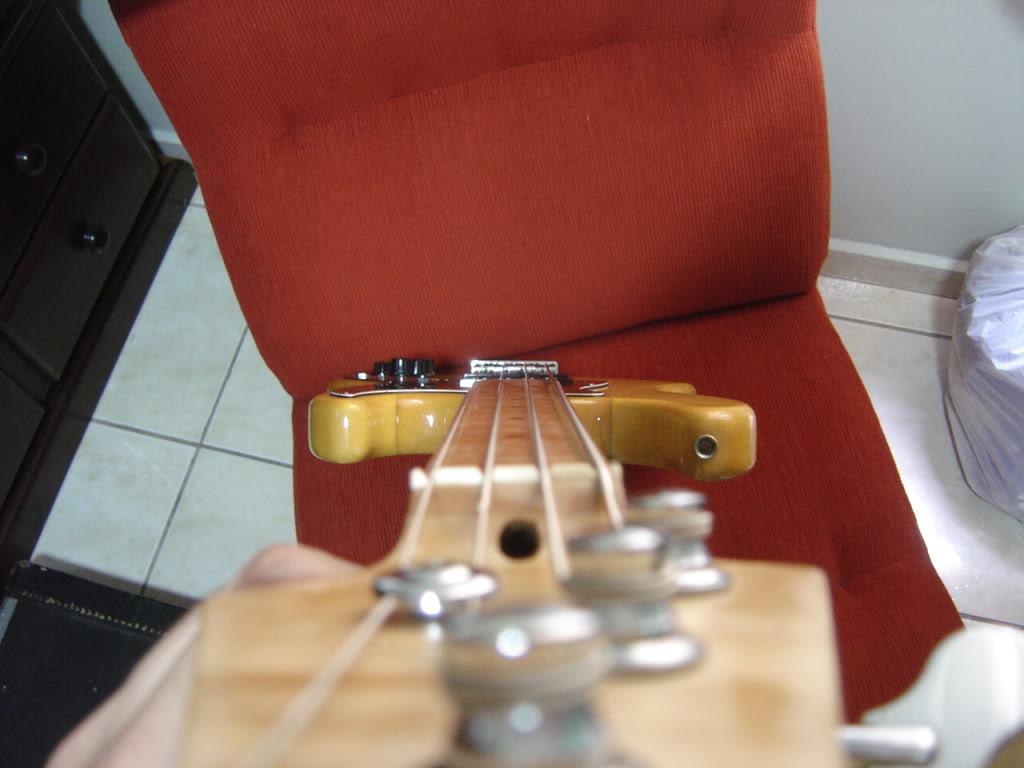 Jazz Bass Fretless. DSC02164