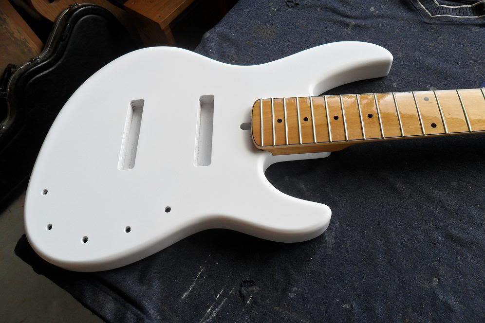 Jazz Bass 5 cordas Custom - S. Martyn Corpo