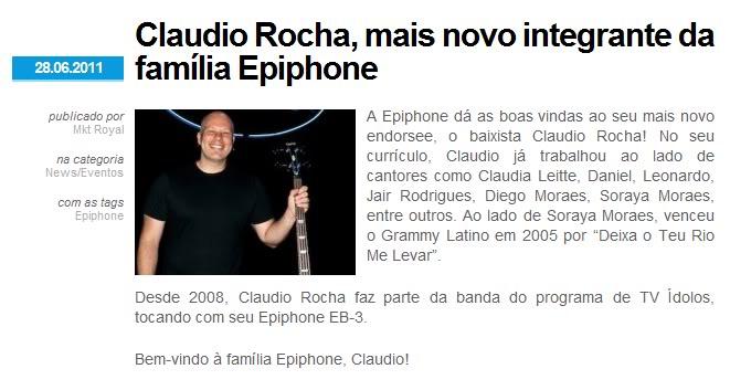Claudio Rocha - Novo endorsee da Epiphone Semttulo-1