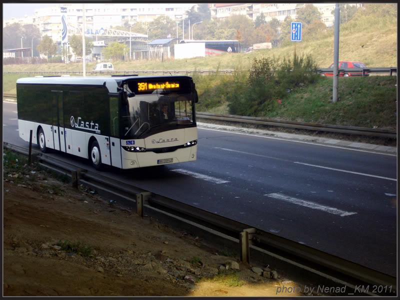 Lasta prigradski saobraćaj LastaBG1