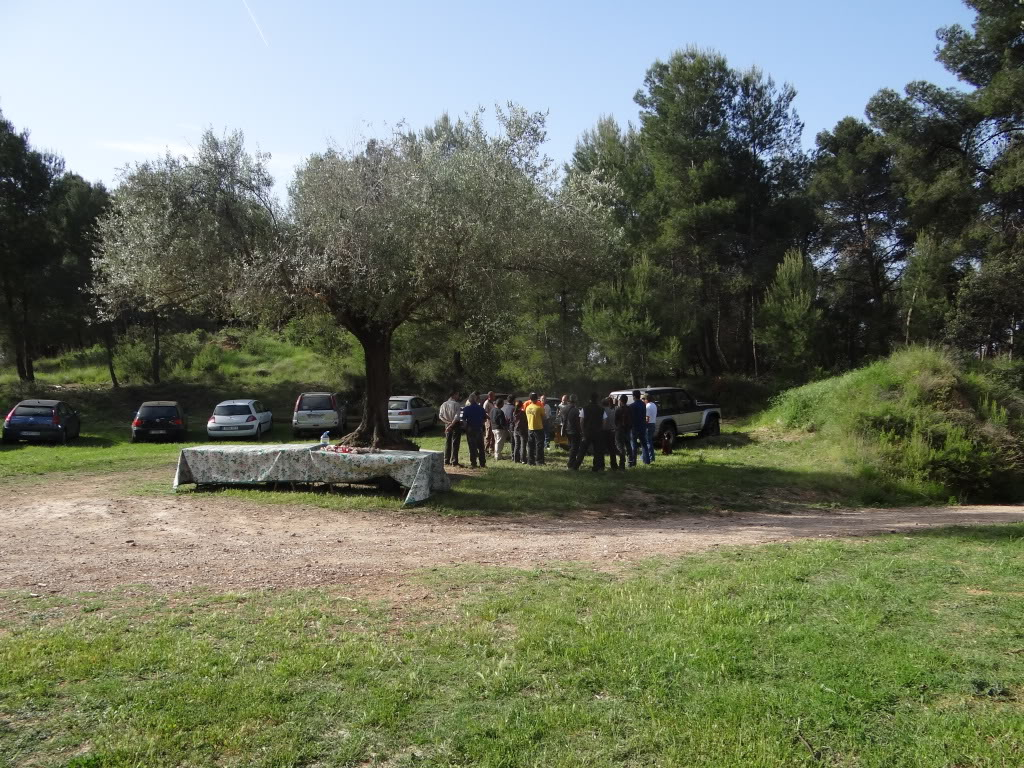 Segunda   Jornada Iniciación al Rastreo en Cataluña DSC01230