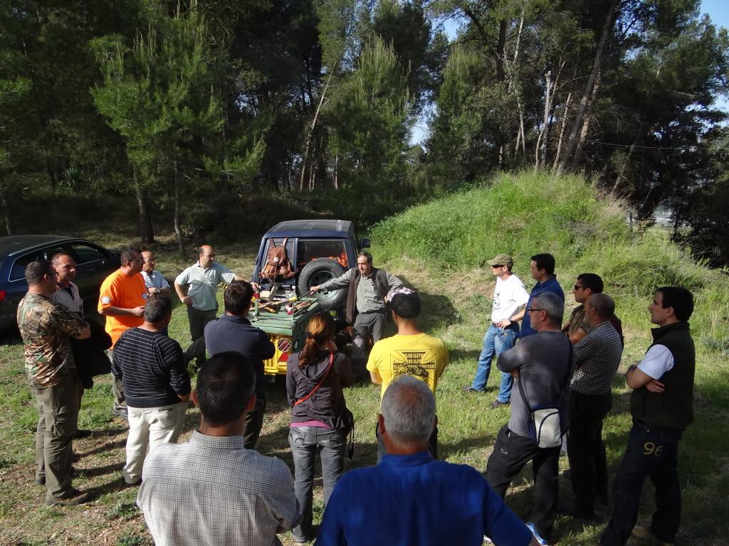 Segunda   Jornada Iniciación al Rastreo en Cataluña DSC01233