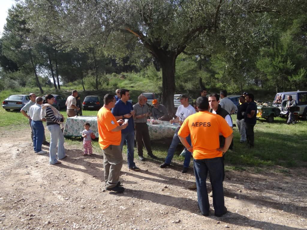 Segunda   Jornada Iniciación al Rastreo en Cataluña DSC01243