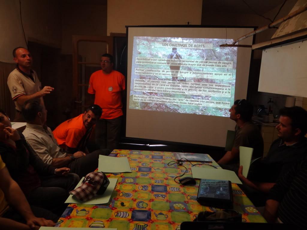 Segunda   Jornada Iniciación al Rastreo en Cataluña DSC01246