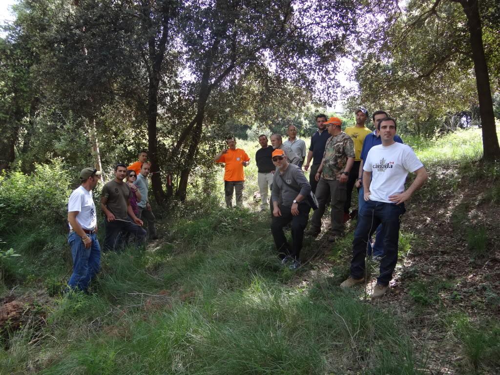 Segunda   Jornada Iniciación al Rastreo en Cataluña DSC01249