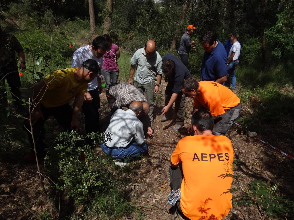 Segunda   Jornada Iniciación al Rastreo en Cataluña DSC01268