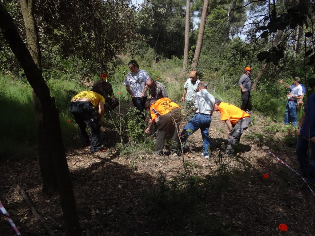Segunda   Jornada Iniciación al Rastreo en Cataluña DSC01270