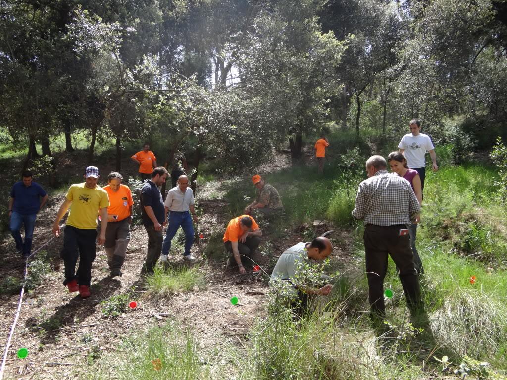 Segunda   Jornada Iniciación al Rastreo en Cataluña DSC01272