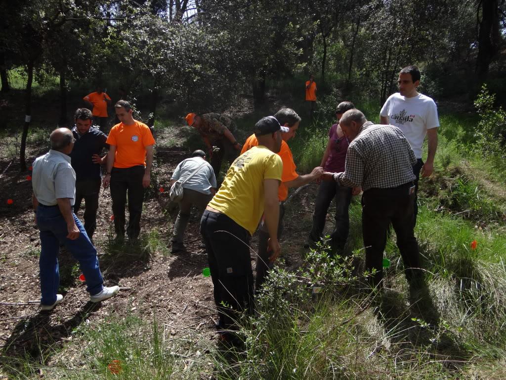 Segunda   Jornada Iniciación al Rastreo en Cataluña DSC01274