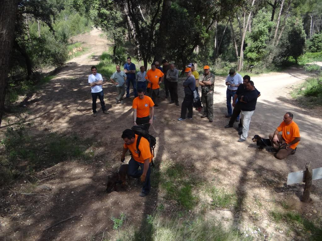 Segunda   Jornada Iniciación al Rastreo en Cataluña DSC01282