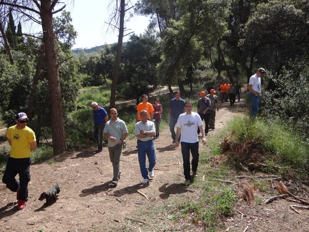 Segunda   Jornada Iniciación al Rastreo en Cataluña DSC01292