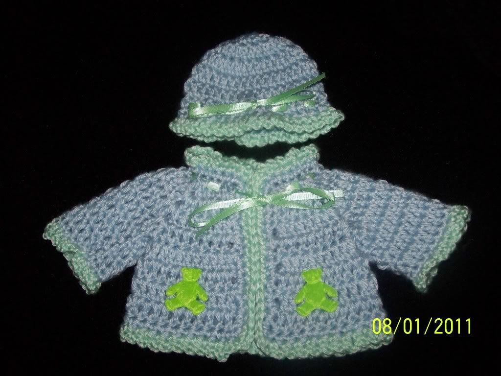 "Look for under $10 for 12""chest/15""/17"" preemie 001-2"