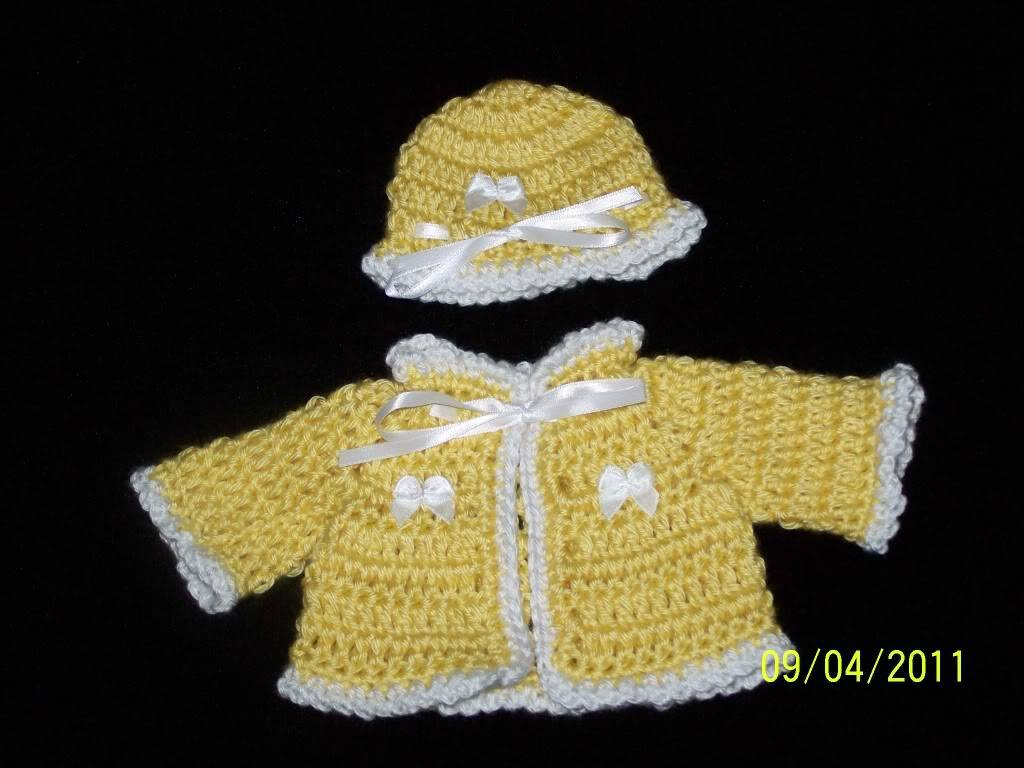 "Look what you can buy for under $10 for 10""chest/14"" preemie 004-1"