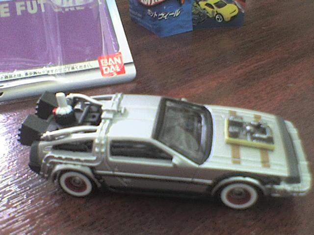 HW DeLorean III back to the Future HWDeLoreanIII4