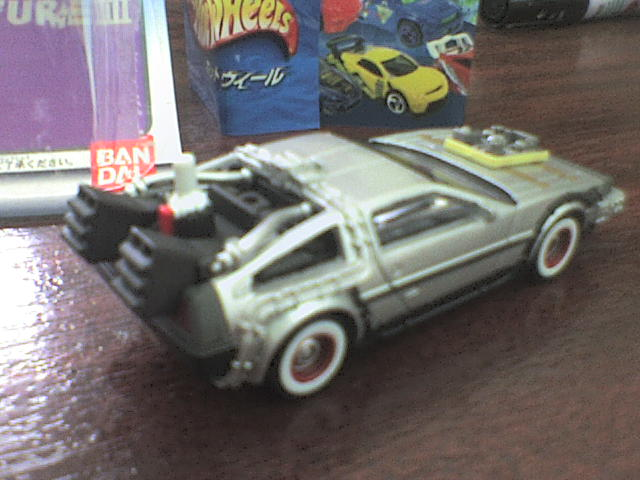 HW DeLorean III back to the Future HWDeLoreanIII6